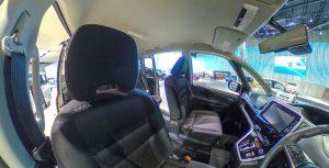 車の内装設備の紹介
